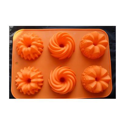 Forma de silicon mini tort 6 cavitati