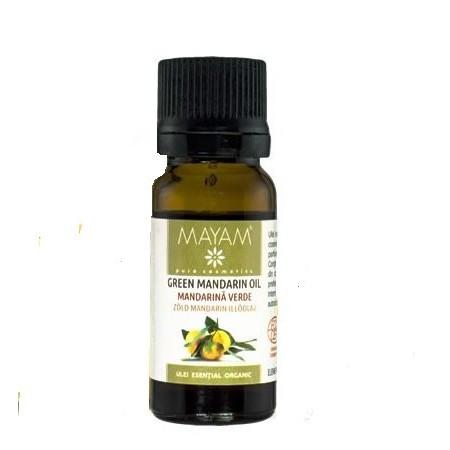 Mandarina verde BIO* ulei esential (citrus reticulata) 10 ml