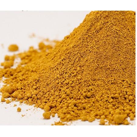 Pigment mineral galben 2 de puritate ridicata 10 gr