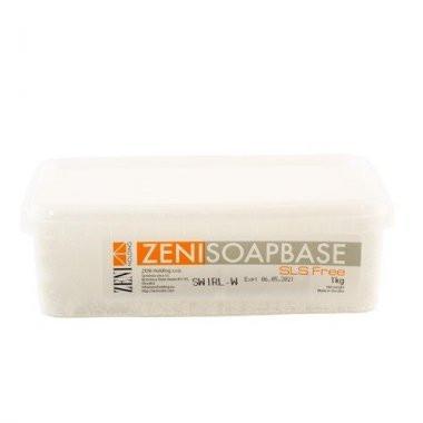 Baza de sapun Melt&Pour Zeni 1 kg ALB