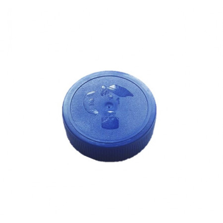 Capac Ø48 protectie copii albastru