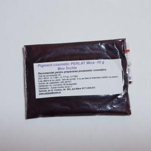 Pigment cosmetic perlat Mica Mov inchis 10g