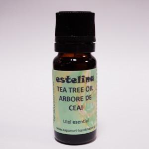 Ulei esential de Tea Tree Arbore de Ceai Australian 100% pur, 10 ml