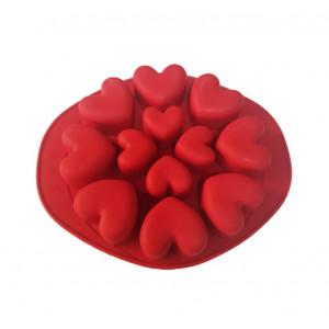 Forma de silicon Inima 12 cavitati