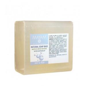 Baza de sapun melt&pour transparent 465 gr