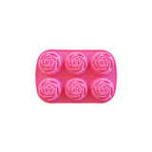 Forma de sapun trandafir 6 cavitati