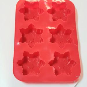 Forma de silicon Fulg de nea 6 cavitati