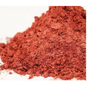 Pigment mineral perlat rosu aprins 5 gr