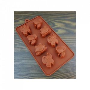 Forma de silicon Mini Animale 8 cavitati