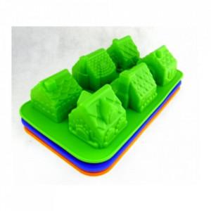 Forma de silicon Casuta 6 cavitati