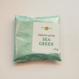 Pigment cosmetic perlat mica Sea Green 10 gr