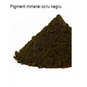 Pigment mineral negru ocru 25 gr