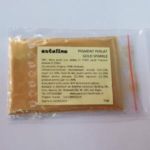 Pigment perlat Gold Sparkle 10 gr
