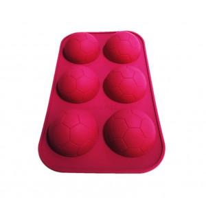 Forma de silicon Minge de fotbal 6 cavitati