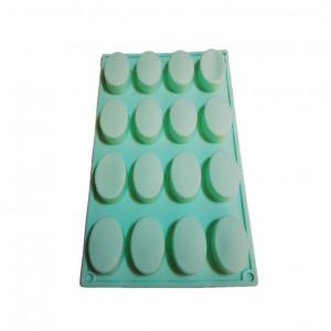 Forma de silicon Mini Oval 16 cavitati
