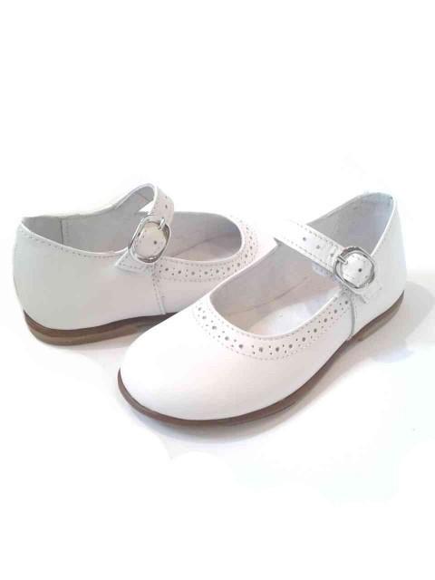 e1e6ff1ff3f8e0 ... Ballerine bambina mary jane scarpe bianche eleganti in pelle images ...