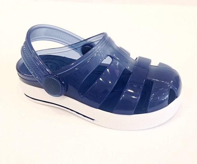 codice promozionale e0fd7 6e692 Cabatte bambino mare sandali acqua ragnetti silicone Igor 25