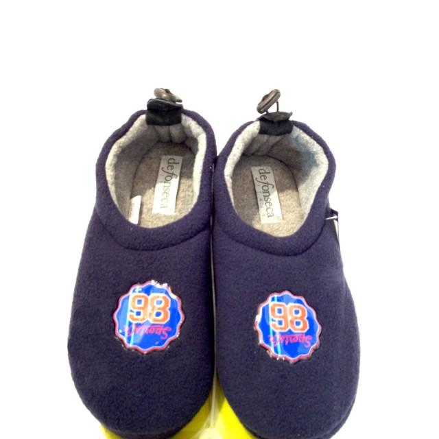 new concept bb265 49e18 Pantofole invernali bambino ciabatte chiuse babbucce calde in pile