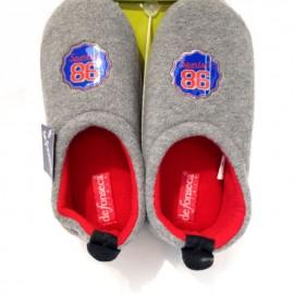 Pantofole invernali bambino ciabatte chiuse babbucce calde in pile immagini