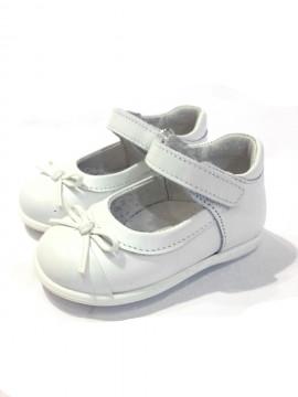 Ballerine bambina scarpe Mary Jane bianche immagini