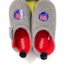 Pantofole invernali bambino ciabatte chiuse babbucce calde in pile