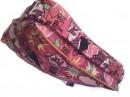 Borsa tracolla bambina cotone stampato fiori fuxia Nameit offerta