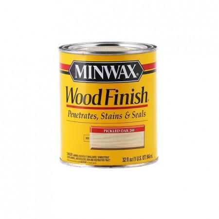 minwax pickled oak