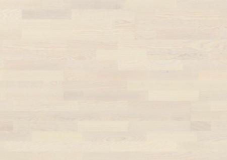 Parchet Longstrip 215/14mm 3S Ash Andante Pure White