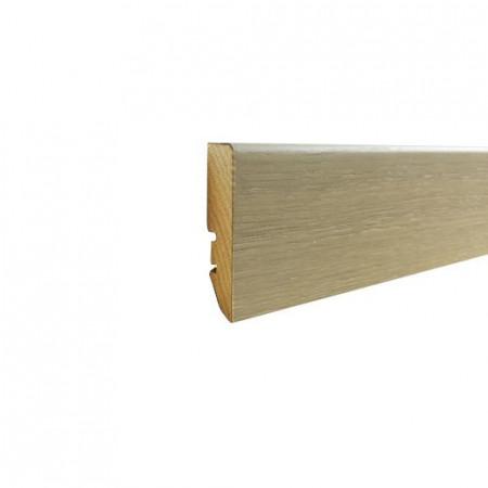 plinta stejar 58/16mm ulei alb