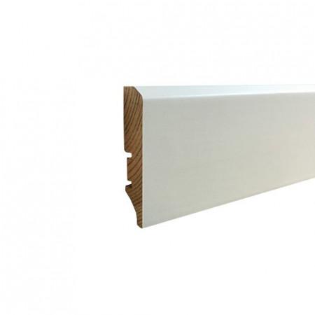 plinta lemn alba infoliata 60x16mm