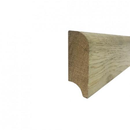 Plinta 60mm Stejar Masiv nefinisat