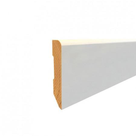 Plinta Lemn Alba 002 ROT 80mm