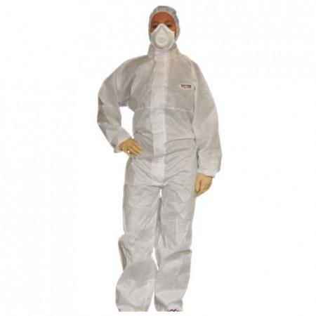 costum protectie alb