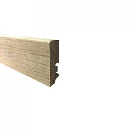 plinta stejar stratificat nefinisata 60mm