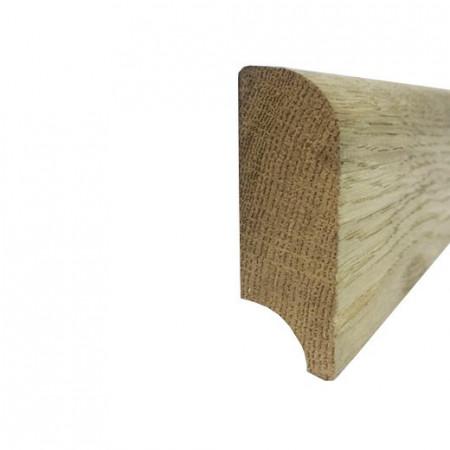 Plinta 60mm Stejar Masiv brut