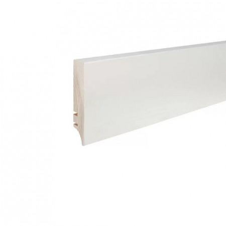 plinta alba lemn 70mm