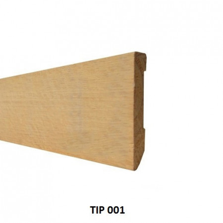 plinta nefinisata stejar tip 001 DREPT