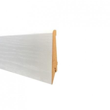 Plinta MDF Decor Stejar Alb 2500mm