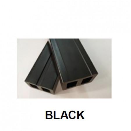 grinda wpc 50x30mm negru