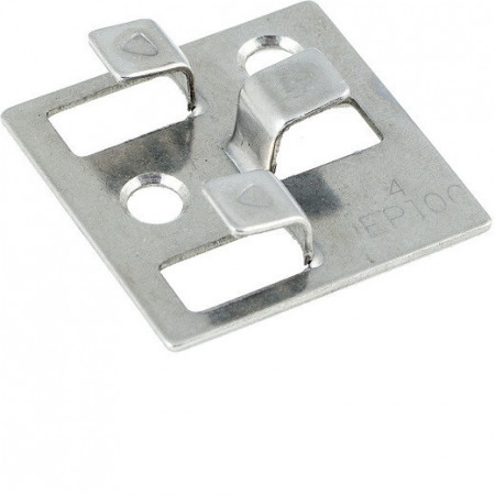 clema inox pentru deck culoare argintiu