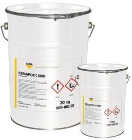 Vopsea epoxidica Kemapox C 6100 25 kg