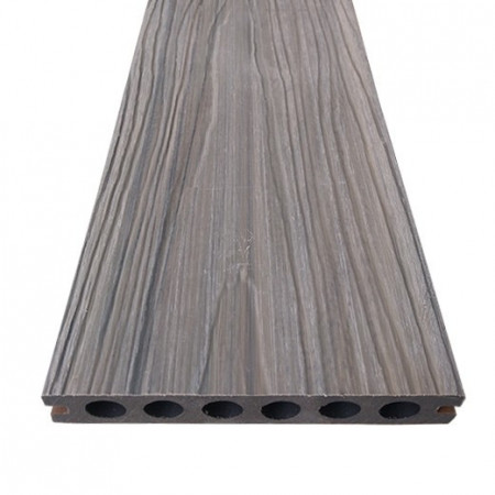 deck wpc gri profil lemn