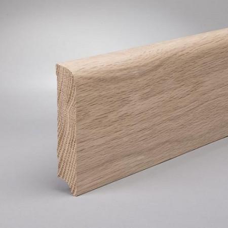 Plinta 60mm Stejar Masiv G ulei alb 15%