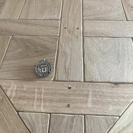 Parchet Versailles 870x870/15mm BRUT Bizot Antique ( brushed)