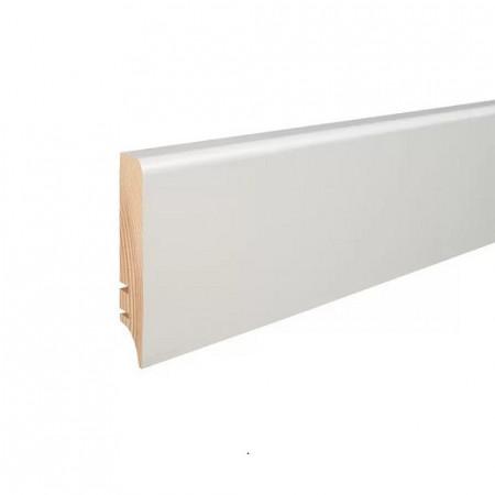 plinta lemn alba 70mm crermont