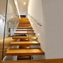 Trepte Stejar (in consola- scari suspendate)