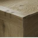 profil L stejar masiv 35x35mm