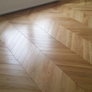 Parchet Chevron Natur 100/20mm Matt