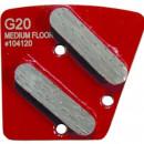 Set Diamant M6 G20 Rosu slefuire sapa si beton