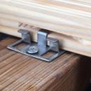 clema deck inox FP decking lemn
